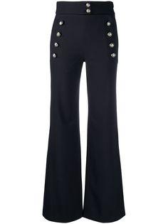 Chloé брюки Sailor с завышенной талией