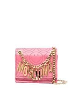 Moschino сумка через плечо Smiley с логотипом