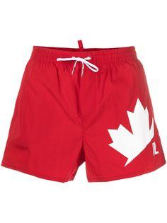 Dsquared2 плавки-шорты Maple Leaf
