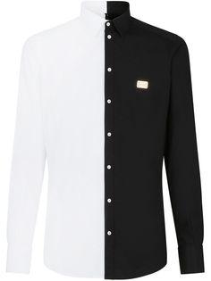 Dolce & Gabbana рубашка в двух тонах