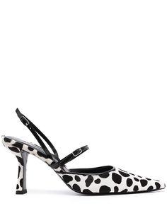 BY FAR туфли Tiffany с анималистичным принтом