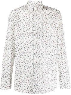 Etro floral-print long-sleeved shirt