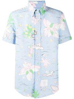 Thom Browne рубашка с короткими рукавами