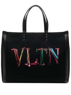 Valentino сумка-тоут с логотипом