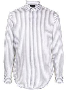 Emporio Armani рубашка в полоску