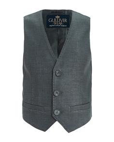 Серый классический жилет Gulliver