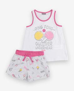 Пижама с шортами Gulliver