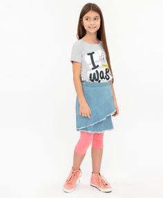 Джинсовая юбка Button Blue