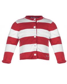 Красная кофта в полоску Gulliver