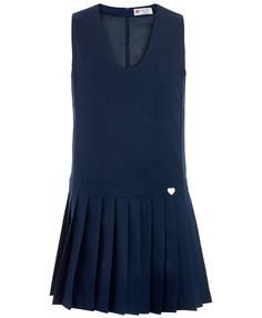 Синий сарафан Button Blue