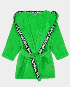 Зеленый халат Gulliver