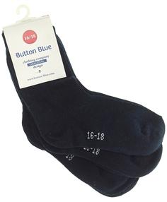 Комплект из 3 пар носков Button Blue