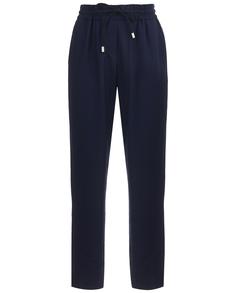 Синие брюки на резинке Gulliver