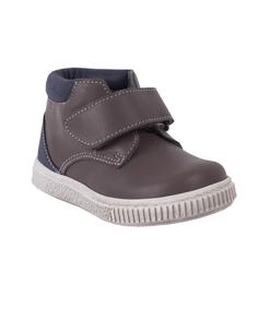 Кожаные ботинки с застежкой на липучке Gulliver