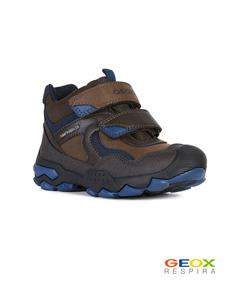 Коричневые ботинки Geox