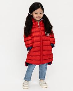 Красное демисезонное пальто Gulliver
