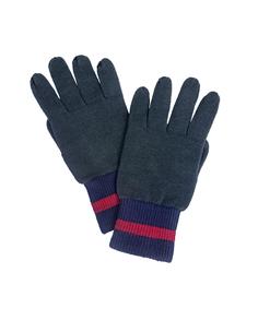 Зеленые вязаные перчатки Gulliver