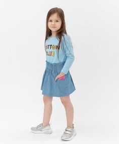 Синяя юбка Button Blue