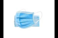 Маска медицинская защитная одноразовая трехслойная 50 шт. Anhui Hualing Textile Co., Ltd