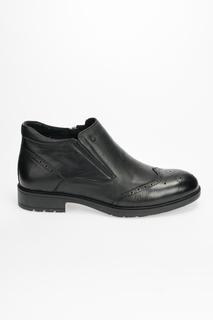 Ботинки мужские Dino Ricci 358-273-01T черные 44 RU