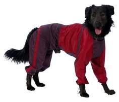 Комбинезон для собак ТУЗИК Скотч-терьер, теплый, мужской, в ассортименте 37 см