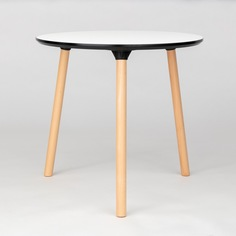 Журнальный столик Morton 80 см меламин белый StoreForHome / PW-037-2-WHITE