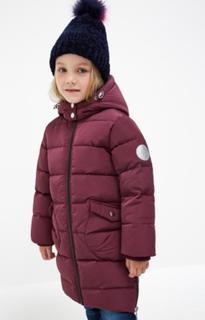 Куртка детская для девочек Acoola Karolin цв. вишневый, р. 122