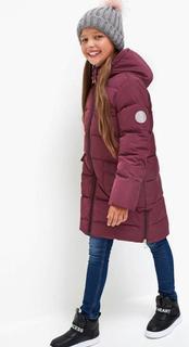 Куртка детская для девочек Acoola Karolin цв. вишневый, р. 146