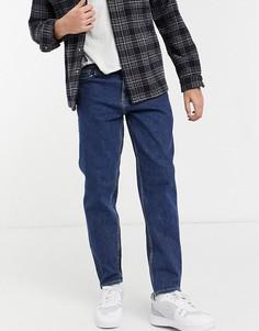 Синие джинсы классического кроя New Look-Голубой