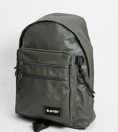 Рюкзак оливкового цвета Hi-Tec Dillon-Зеленый цвет
