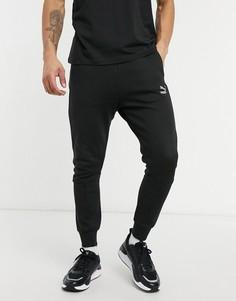Черные спортивные штаны PUMA Classic Tech-Черный цвет