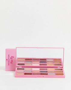 Палетка теней для век в виде шоколадной плитки I Heart Revolution Rosé Fizz-Многоцветный