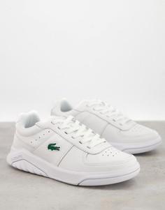 Белые кроссовки Lacoste Game Advance-Белый