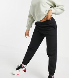 Черные джоггеры с манжетами New Look Petite-Черный цвет