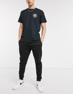 Черные джоггеры Topman-Черный цвет