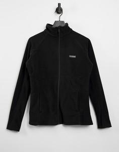 Черная куртка из ткани базен на молнии Columbia Trail II-Черный цвет