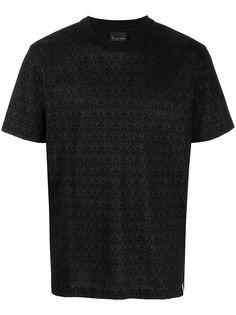 Billionaire футболка с короткими рукавами и принтом