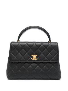 Chanel Pre-Owned маленький стеганый портфель 1997-го года
