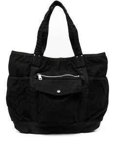 Porter-Yoshida & Co сумка-тоут с карманом на молнии