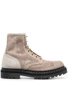 Premiata массивные ботинки на шнуровке