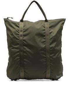 Porter-Yoshida & Co рюкзак на молнии с нашивкой-логотипом