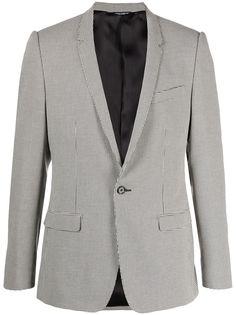 Dolce & Gabbana пиджак в ломаную клетку