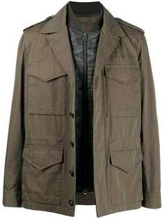 Etro куртка в стиле милитари