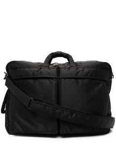Porter-Yoshida & Co сумка для ноутбука с нашивкой-логотипом