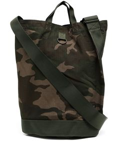 Porter-Yoshida & Co сумка-тоут с камуфляжным принтом