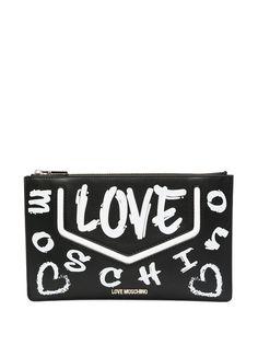 Love Moschino сумка на плечо Love с логотипом
