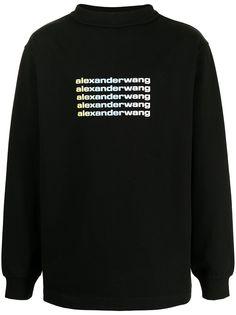 Alexander Wang толстовка с логотипом