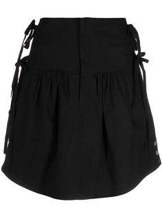 Isabel Marant Étoile юбка мини А-силуэта с завязками