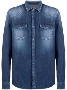 Dondup джинсовая рубашка в стиле вестерн