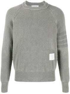 Thom Browne пуловер с полосками 4-Bar